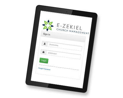 Manage and Connect with your Congregation - iPad